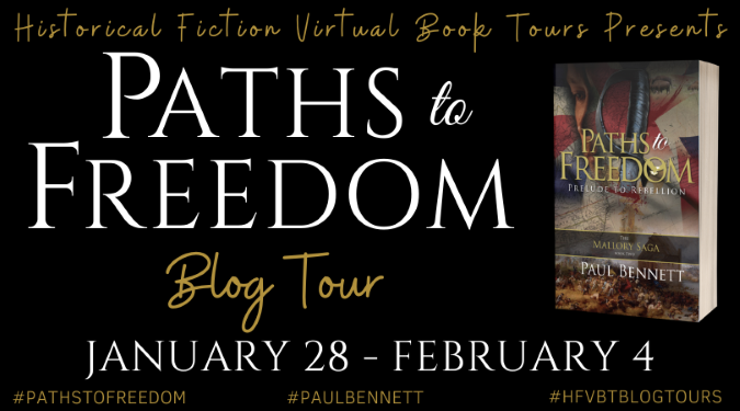 Paths to Freedom tour banner