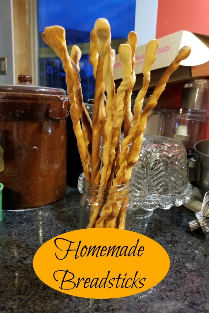 homemade breadsticks
