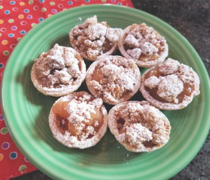 Mini Apple Pies Recipe – Two Bite Apple Crumb Pies