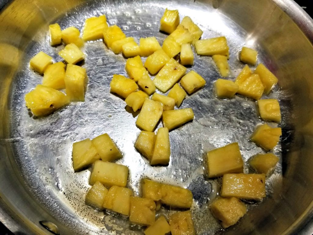 cook pineapple