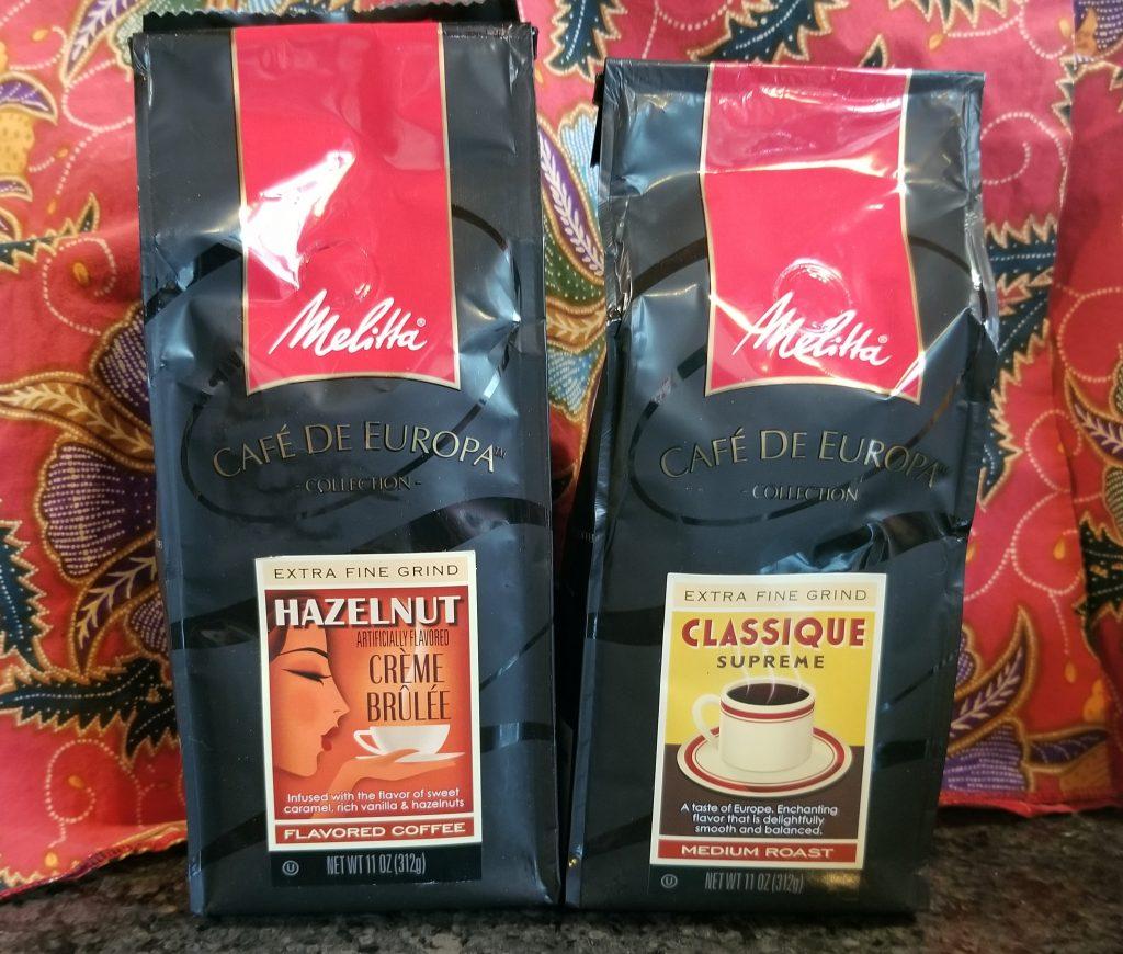 Melitta coffees