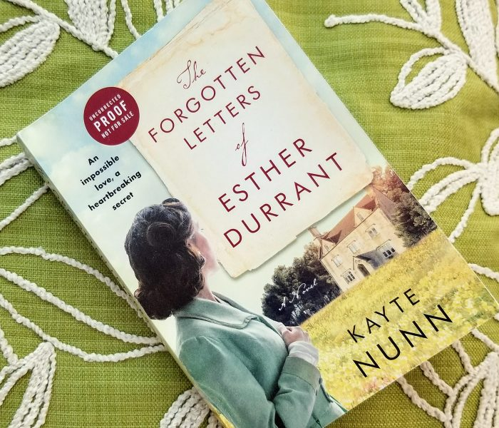The Forgotten Letters of Esther Durrant by Kayte Nunn – Book Review