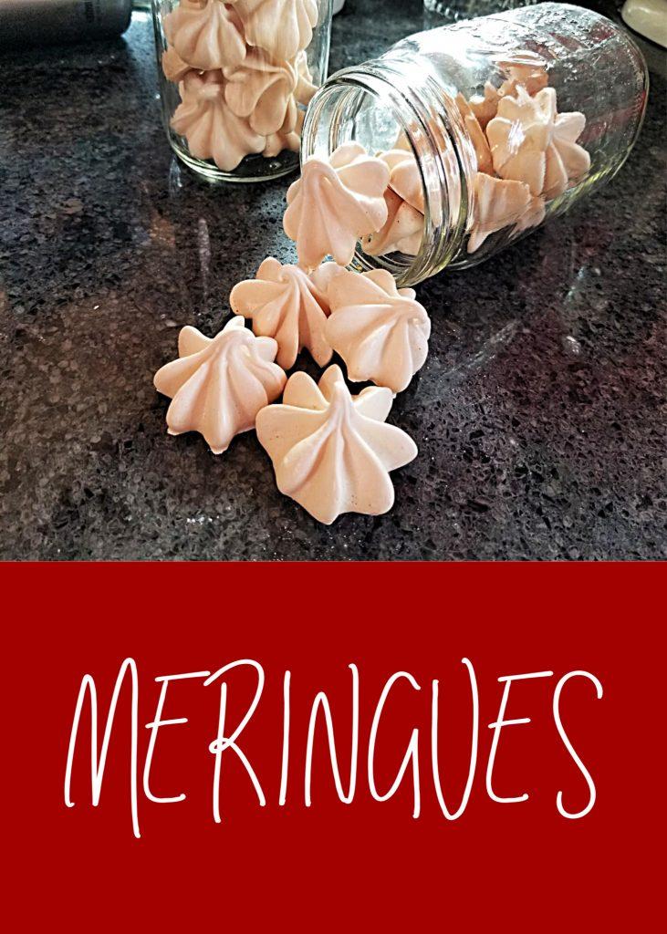 meringue cookies, meringues