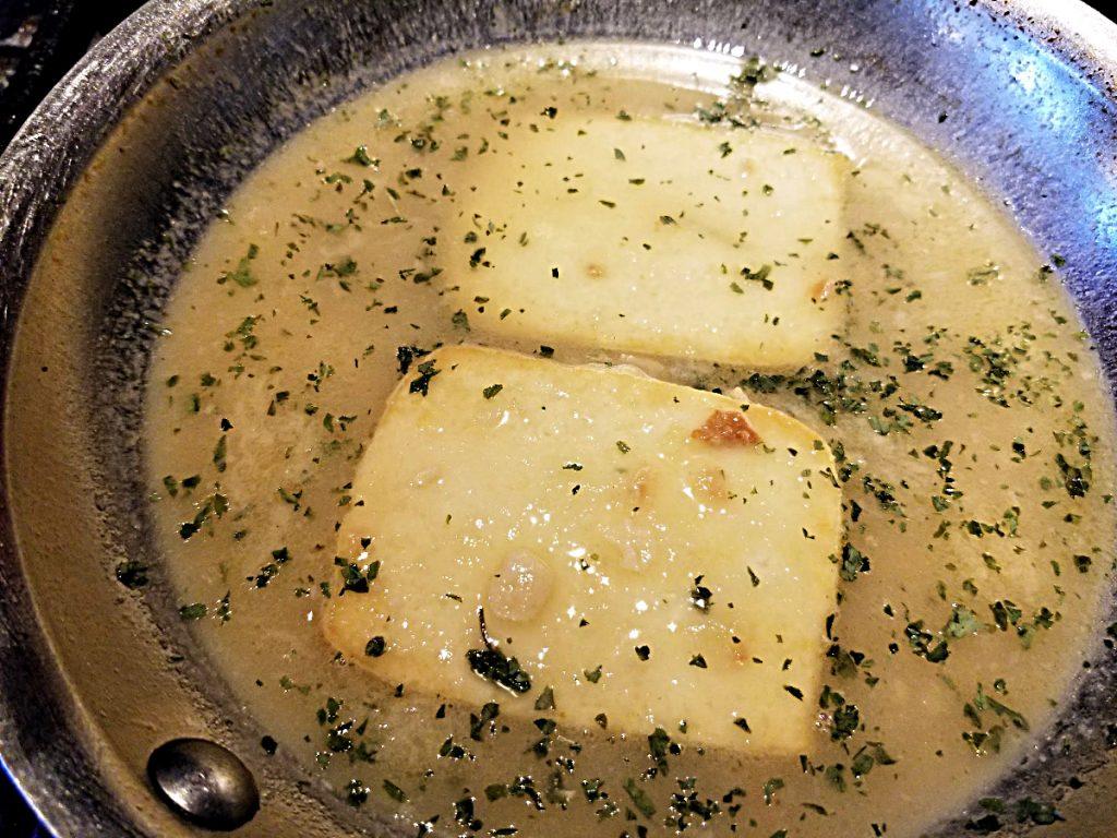 tofu in picatta sauce