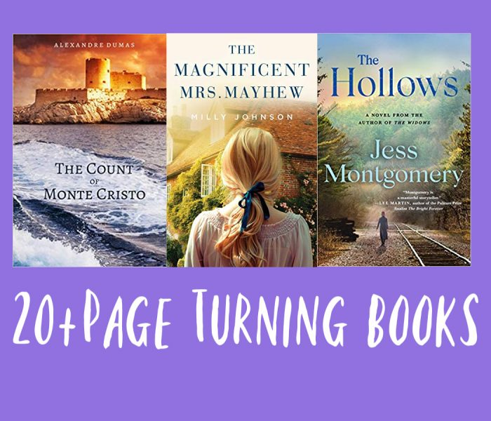 20 Page Turning Books from All Genres
