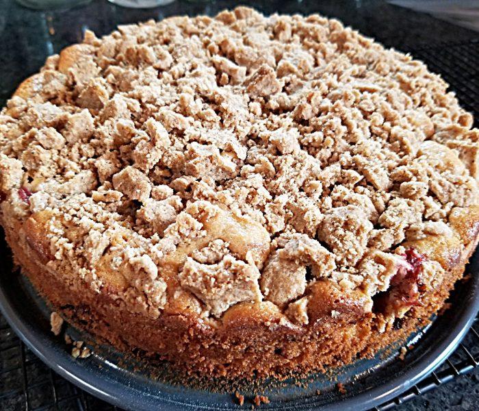 Strawberry Cake Recipe – Strawberry Buckle