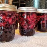 low sugar strawberry cherry jam