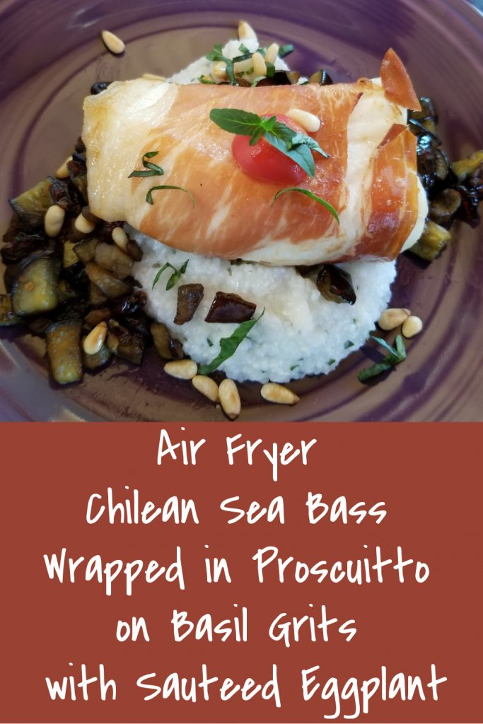 air fryer chilean sea bass recipe