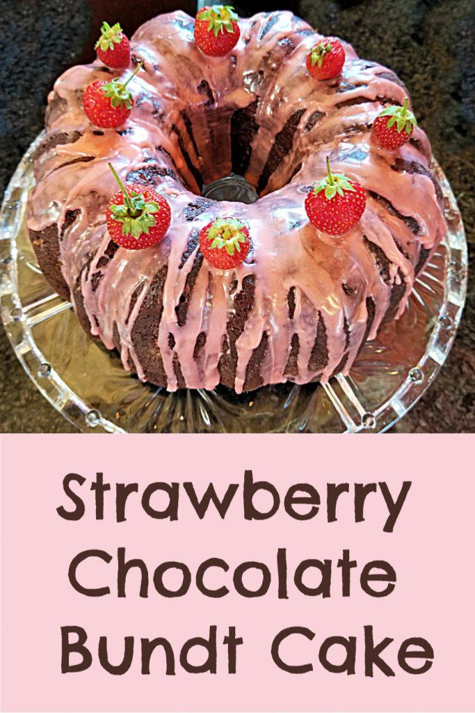 strawberry chocolate bundt cake recipe