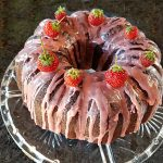 strawberry chocolate bundt cake recipe