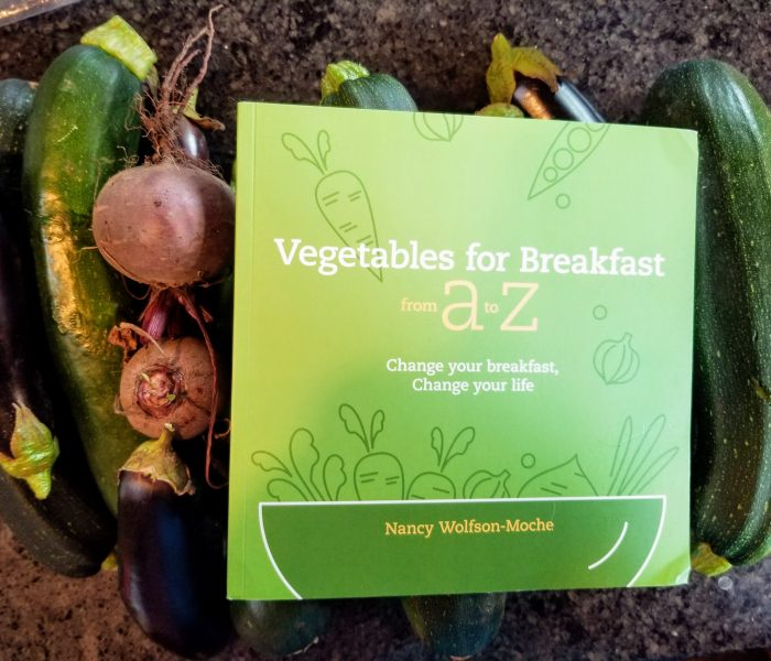 Vegetables for Breakfast by Nancy Wolfson-Moche – Cookbook Review with Carrot Recipe