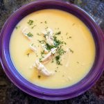 Greek style lemon chicken soup