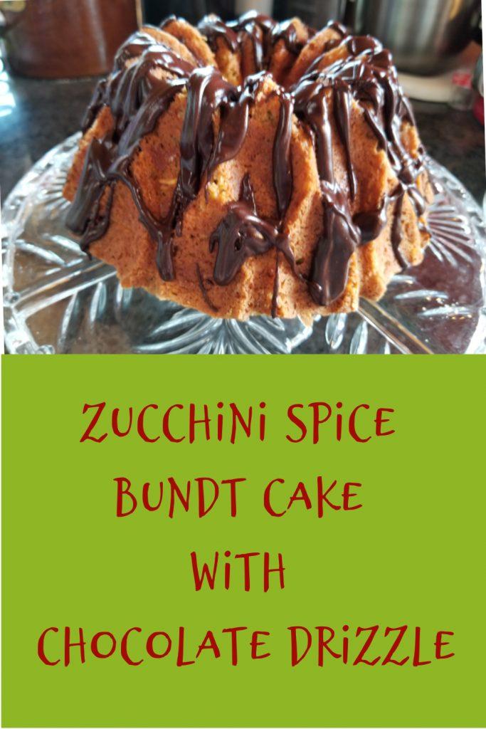 zucchini spice bundt cake