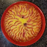 plum blood orange upside down cake recipe