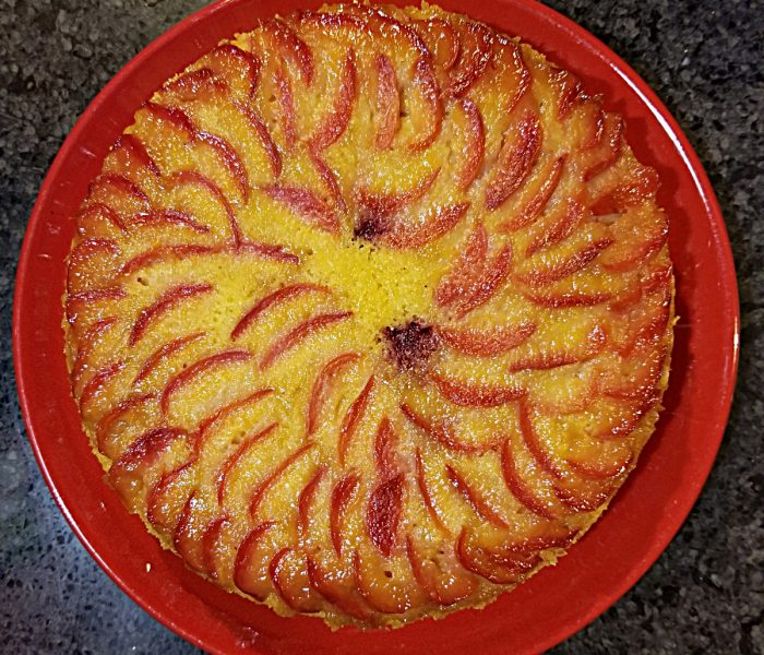 Olive Oil Cake Recipe: Plum, Blood Orange Upside Down Cake with Coupon Code