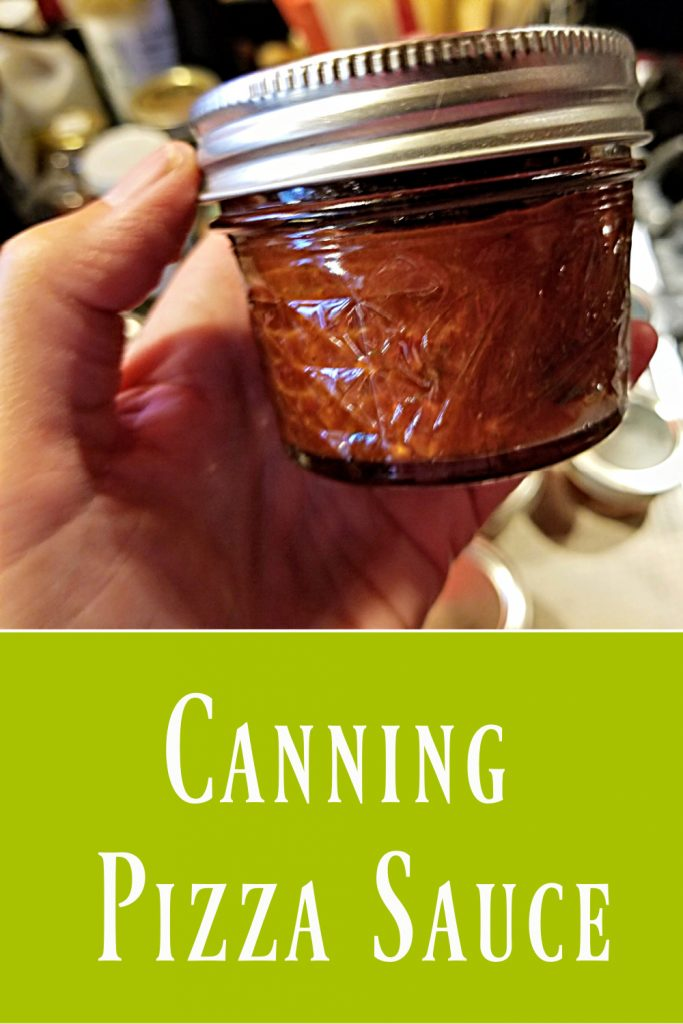canning tomatoes, pizza sauce