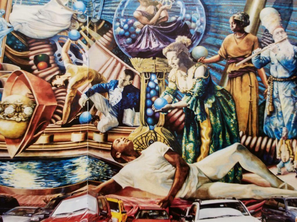 mural in Pensylvania