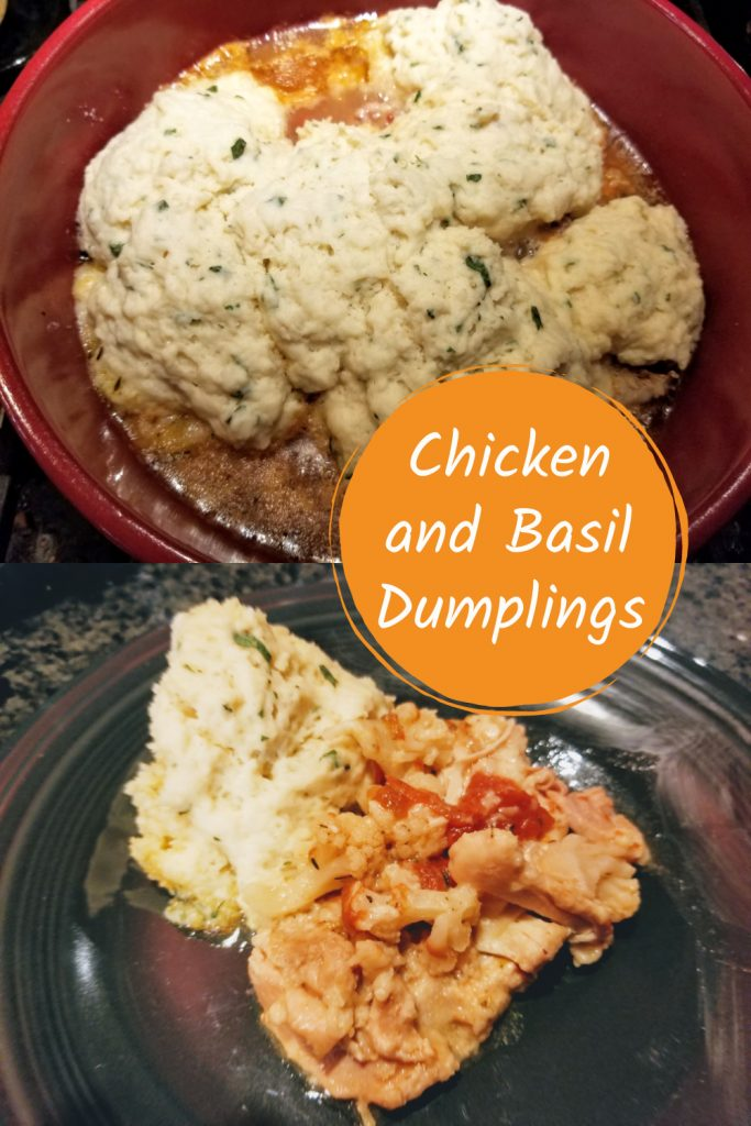 Chicken and Basil Dumplings