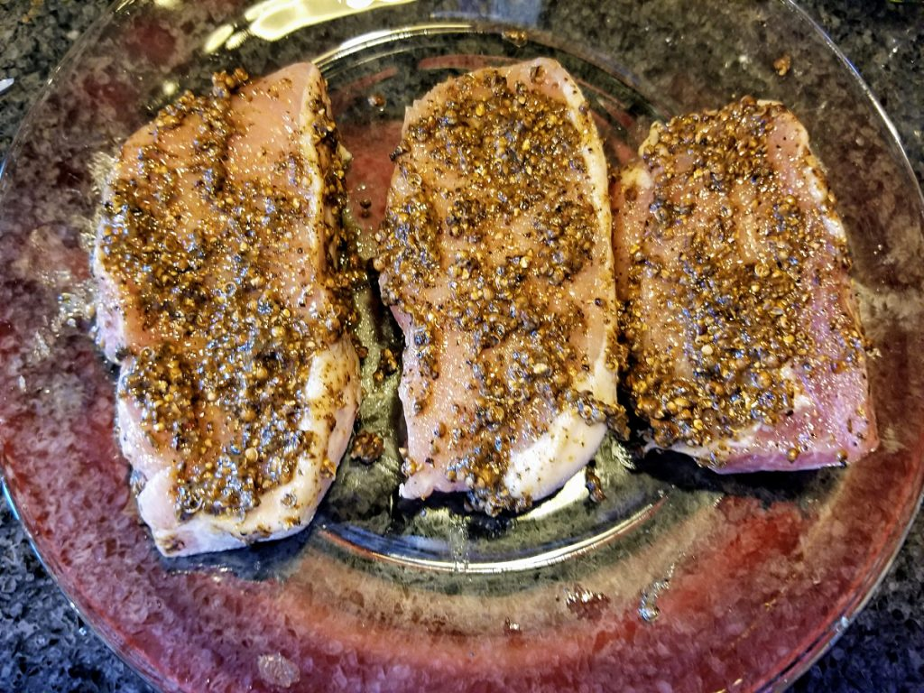 marinate pork chops