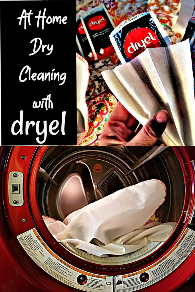 at home drycleaning with dryel