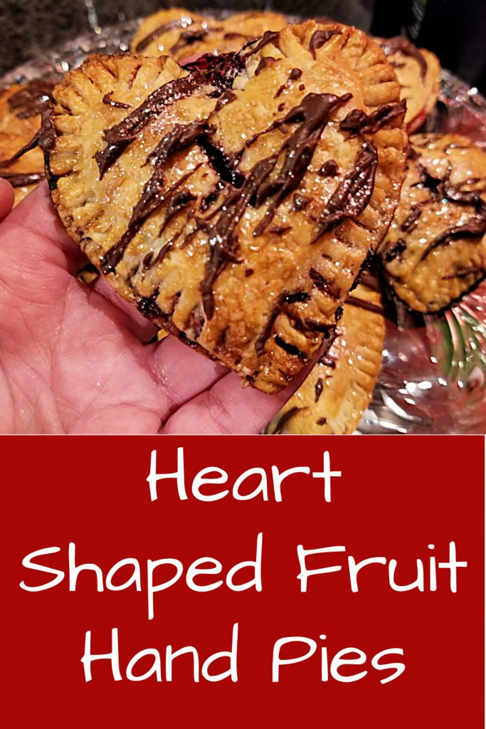 heart shaped fruit pies