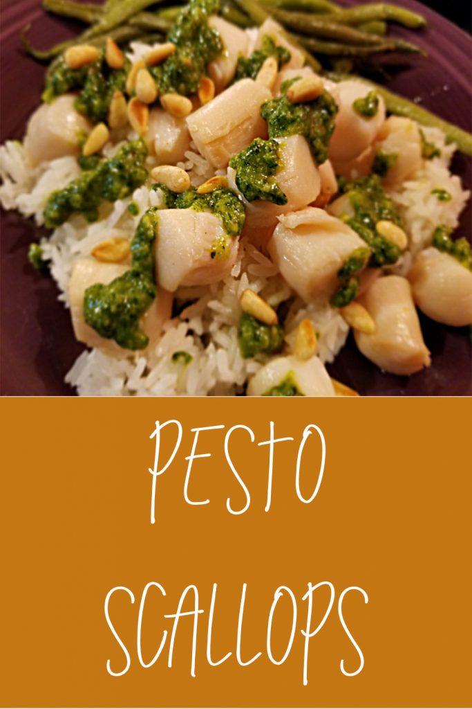 Pesto Scallops