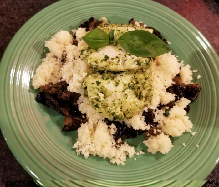Halibut Cheeks Recipe – Halibut Cheeks in a Lemony Pesto