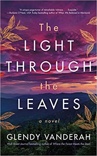 the light through the leaves cover