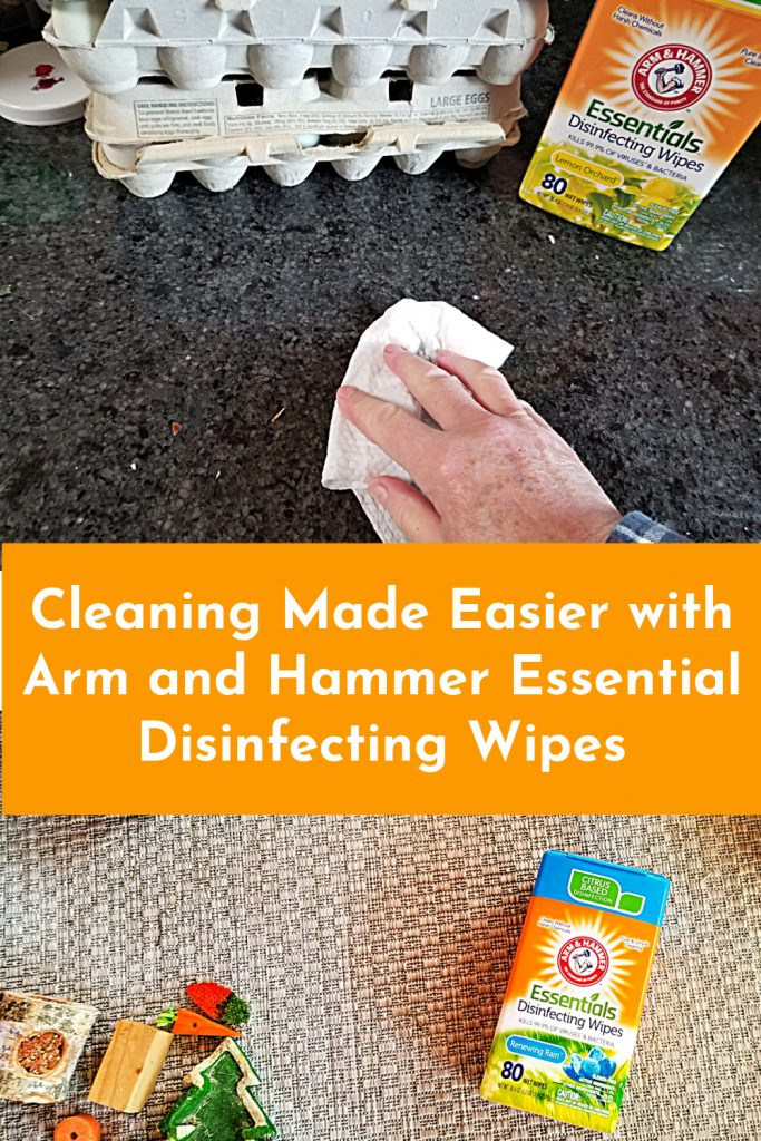 spring cleaning with arm and hammer