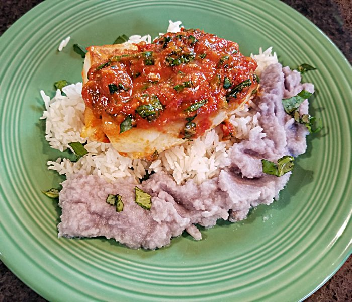 Fish for Dinner:  Chilean Sea Bass with Tomato and Basil