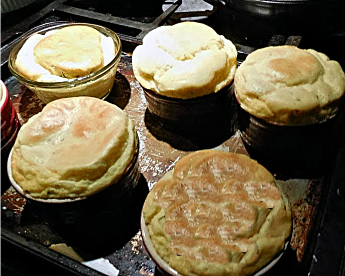 baked souffles