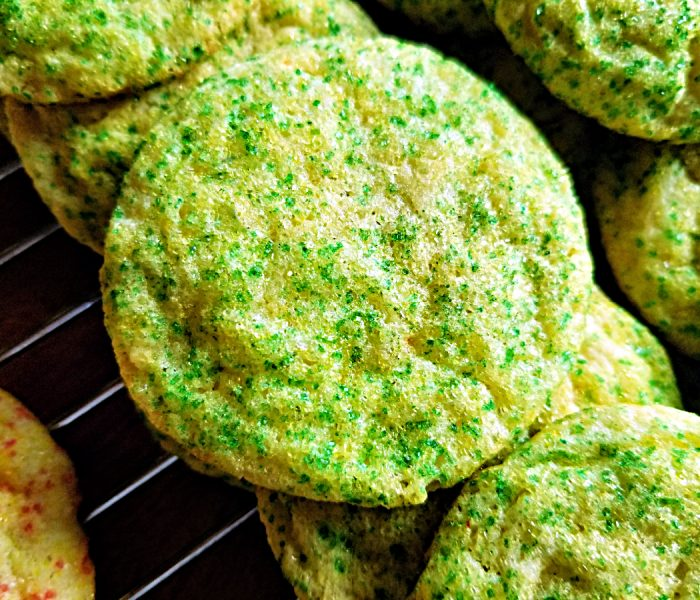 Lime Sugar Cookies – Perfect for a Bake Sale or Pot Luck