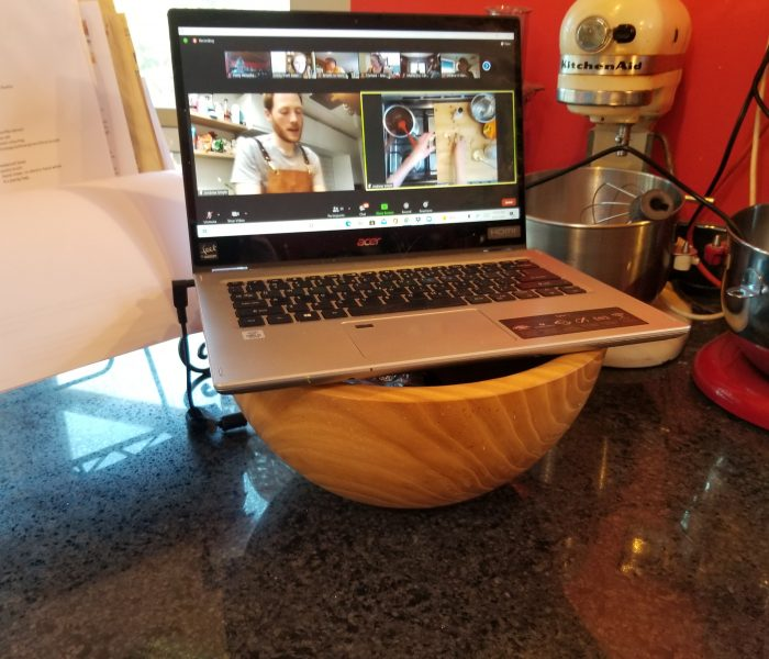 Bake with a Legend Online Baking Classes are Lots of Fun