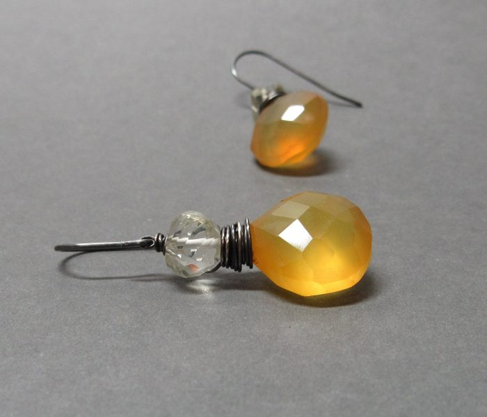 Colorful Gemstone Earrings and More from Orion Designs