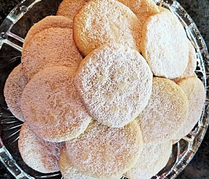 Eggnog Snickerdoodles – Cookie for Christmas in July or Any Day