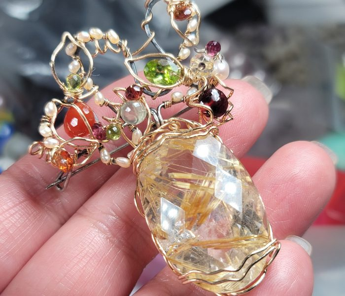 Artisan Gemstone Jewelry by Crysallis Creations