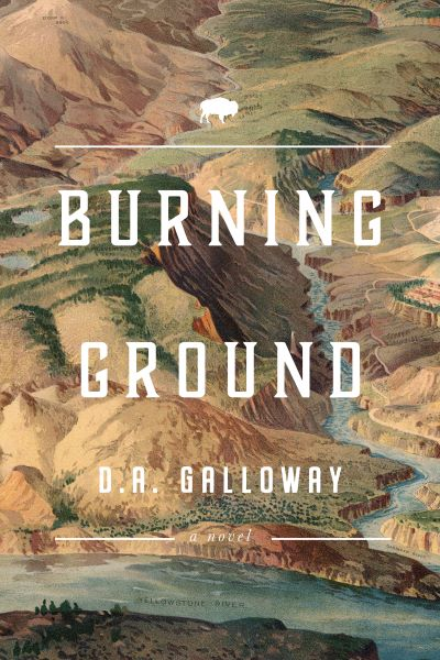 Burning Ground by D. A. Galloway – Blog Tour and Book Review