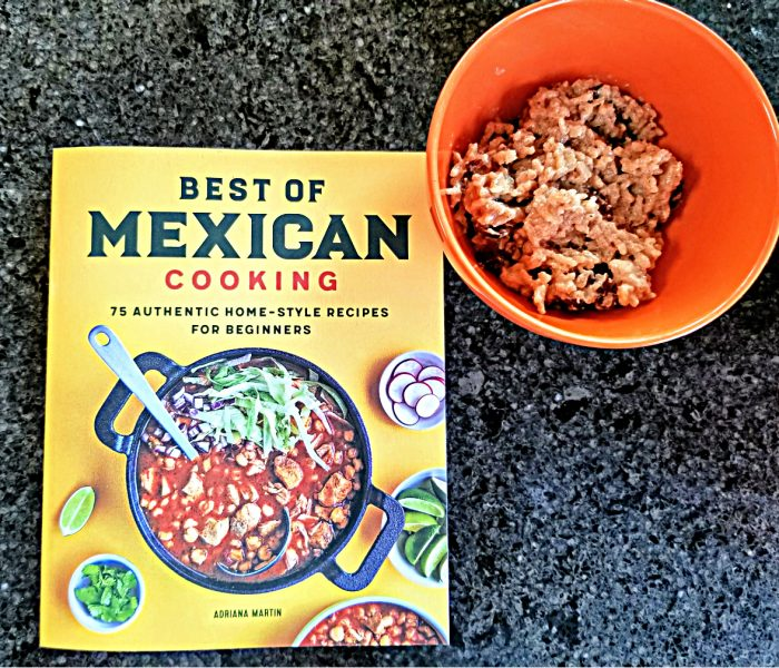 Mexican Rice Pudding from Best of Mexican Cooking by Adriana Martin