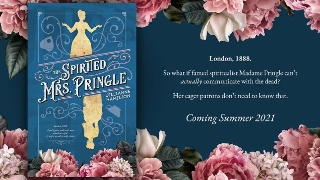 About the Spirited Mrs. Pringle