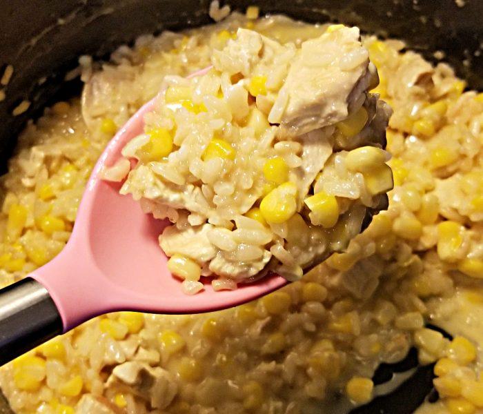 Risotto Recipe: Chicken and Corn Risotto